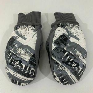 Oakley Mittens Ski Snowboard Faux Leather Gloves L